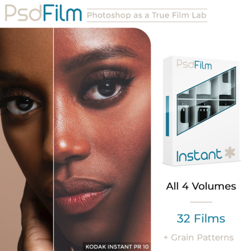 INSTANT Films Emulation Photoshop Actions by PsdFilm