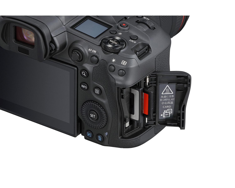 canon eos r5 dual card slots