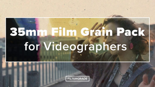 35mm Film Grain Pack Cover - FilterGrade