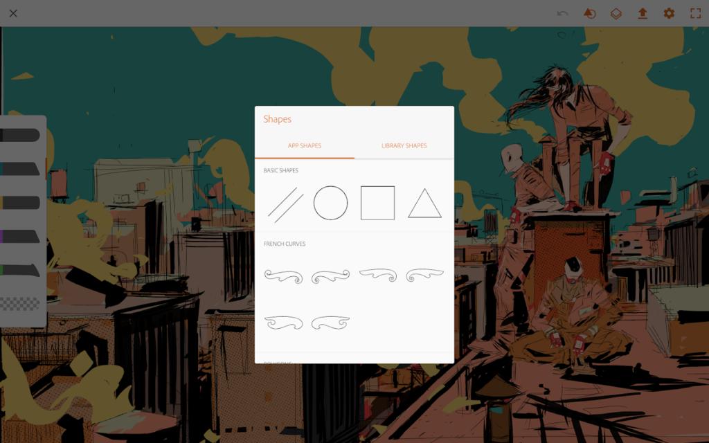 adobe illustrator draw app screenshot