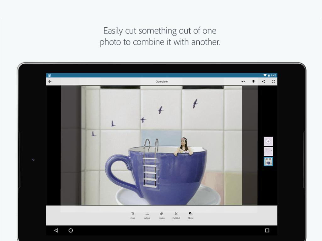 adobe photoshop mix app screenshot