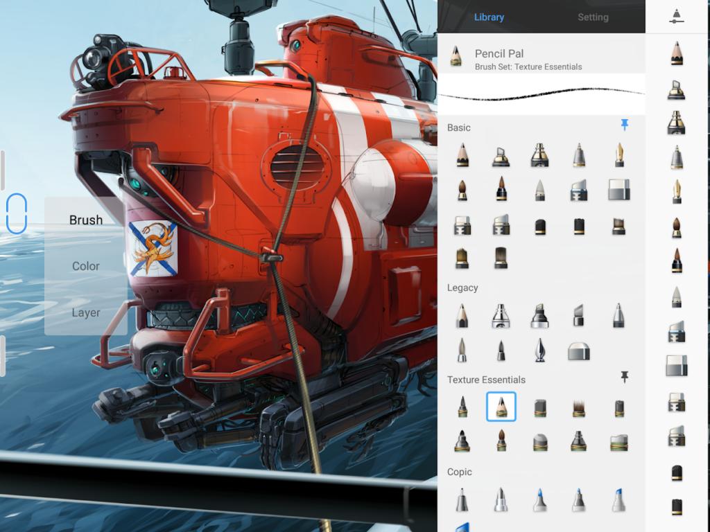 autodesk sketchbook app screenshot