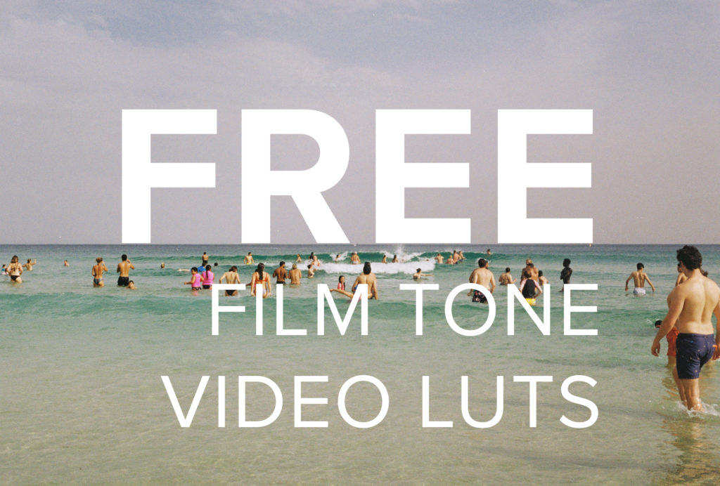FREE Film Tones LUTs Pack Cover