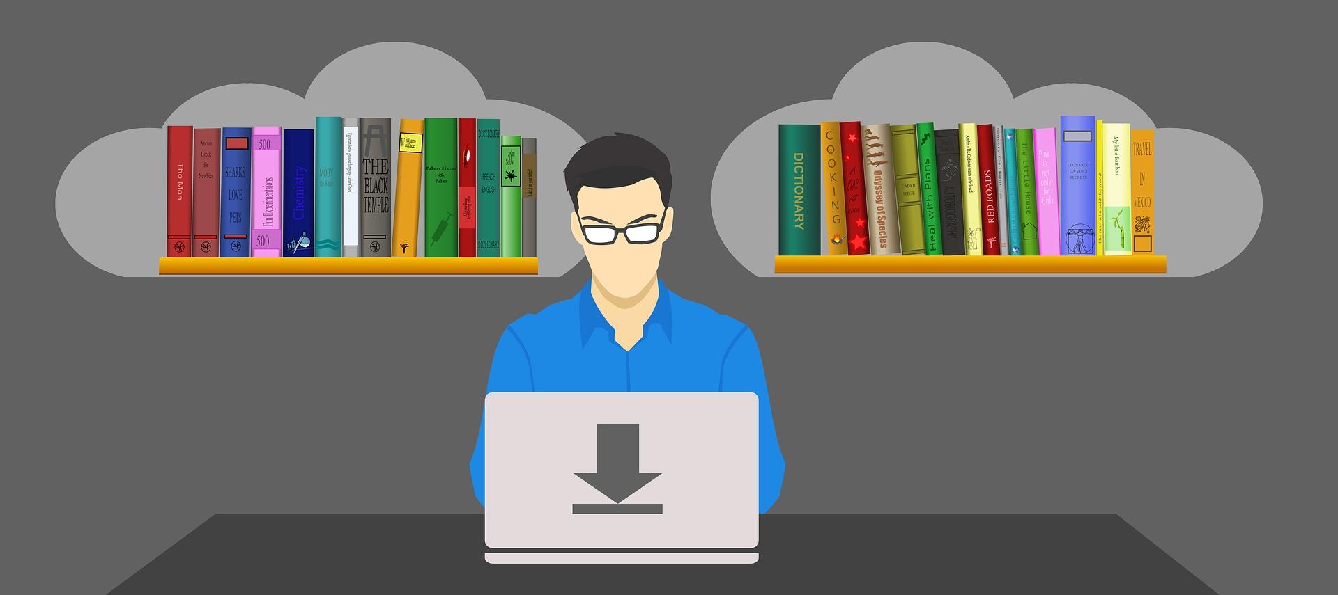illustrations and ebooks