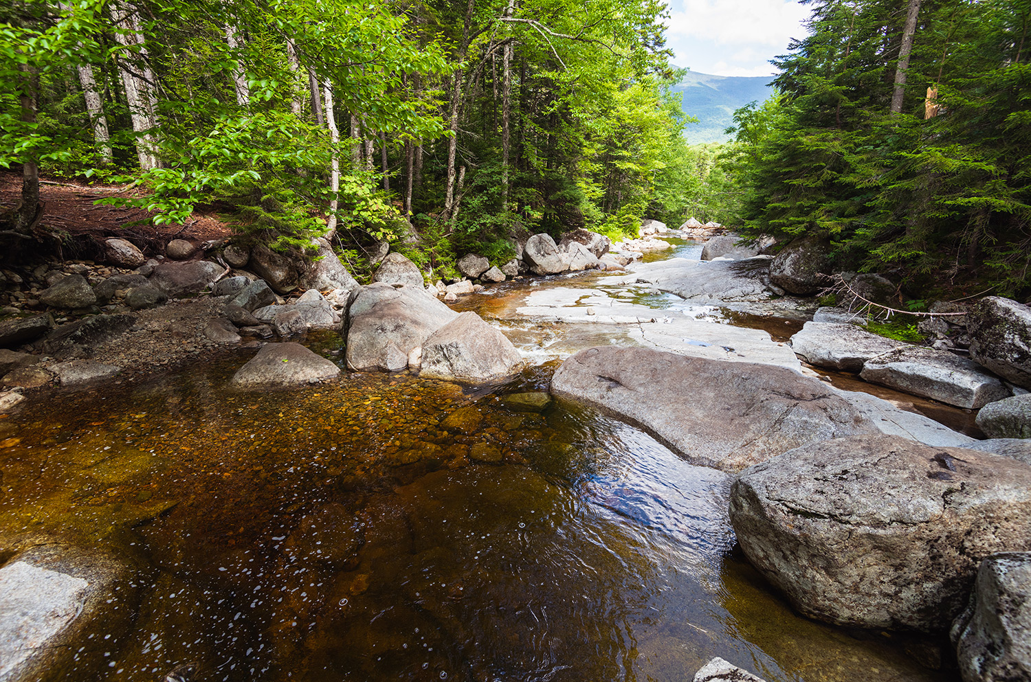 river pools in New Hampshire
