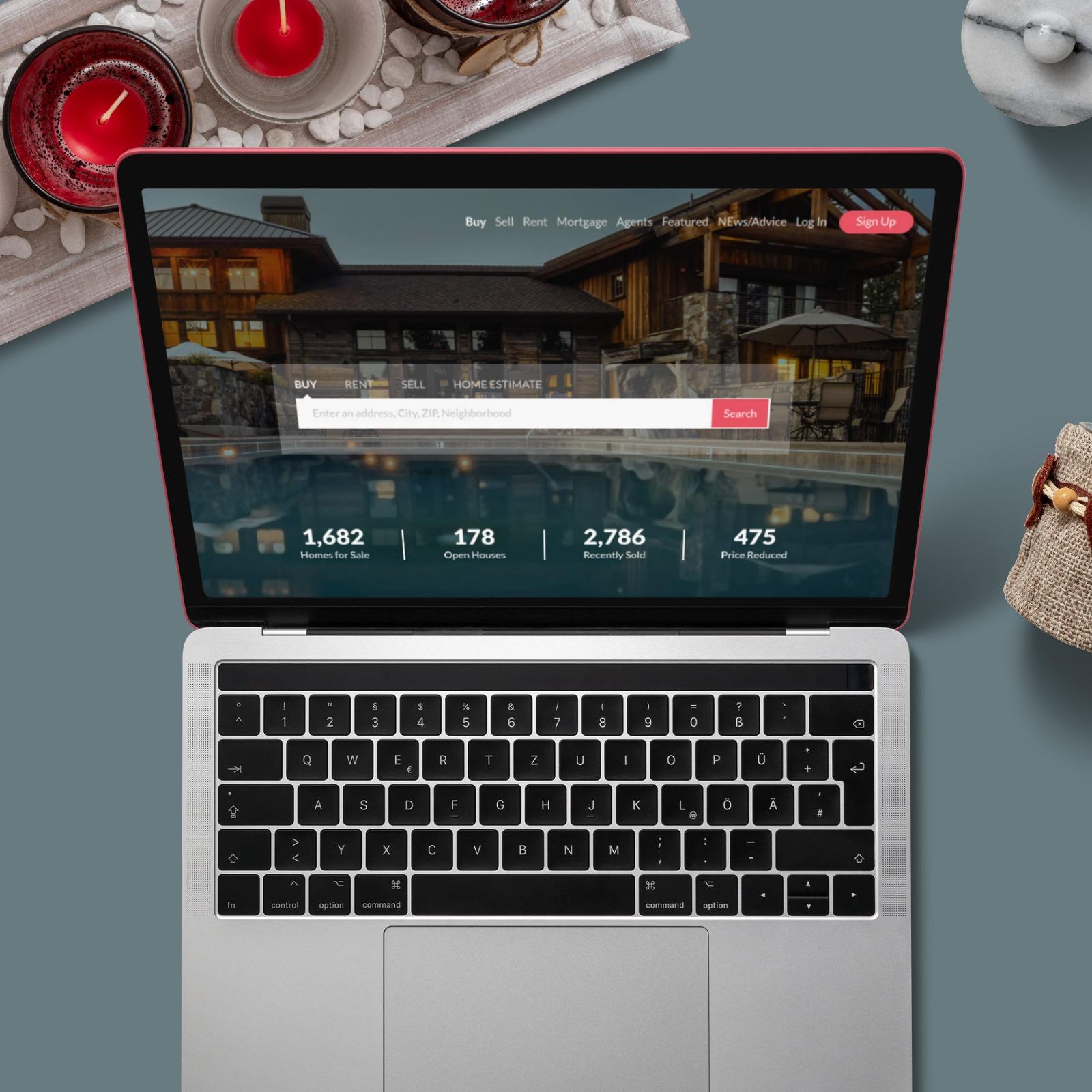 computer screen mockup online
