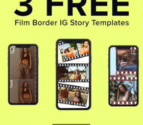 FREE Film Border IG Story Template - FilterGrade