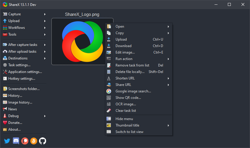 sharex screen recorder app for windows
