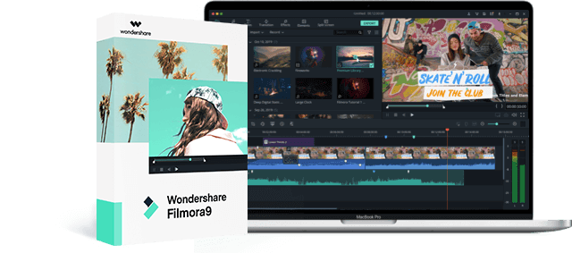 wondershare filmora9 video editing software