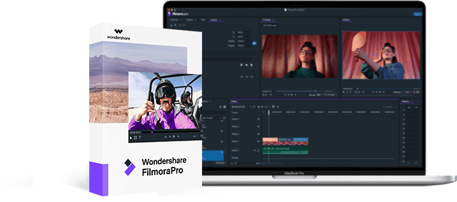 wondershare filmora pro video editing software