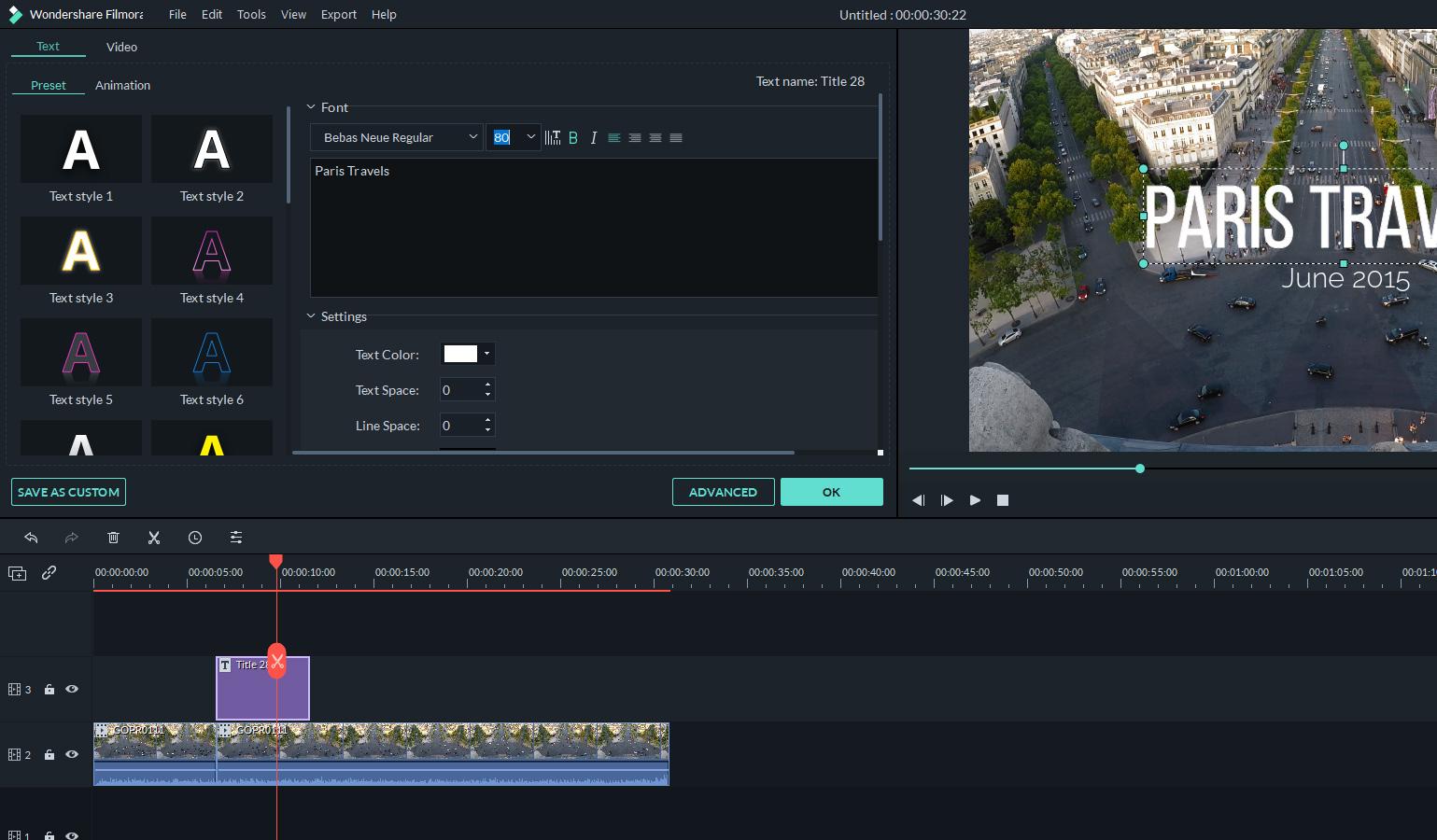 how to add titles wondershare filmora9