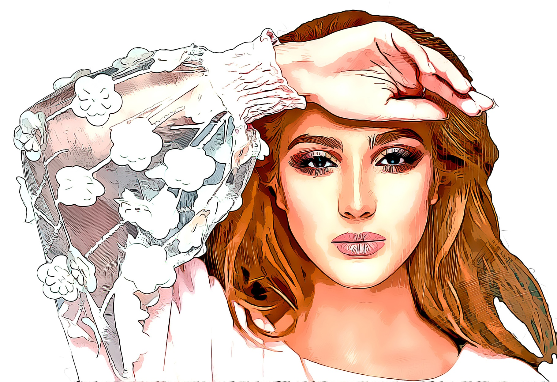 Beautiful Cartoon Photoshop Action Filtergrade