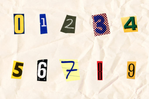 NUMBERS - FilterGrade Letter Cut Outs - Matt Moloney - FilterGrade