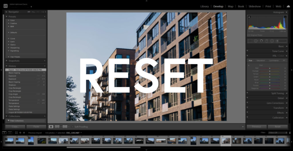 How to Reset Lightroom Preferences