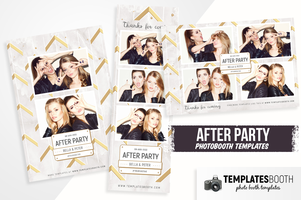after party photobooth templates