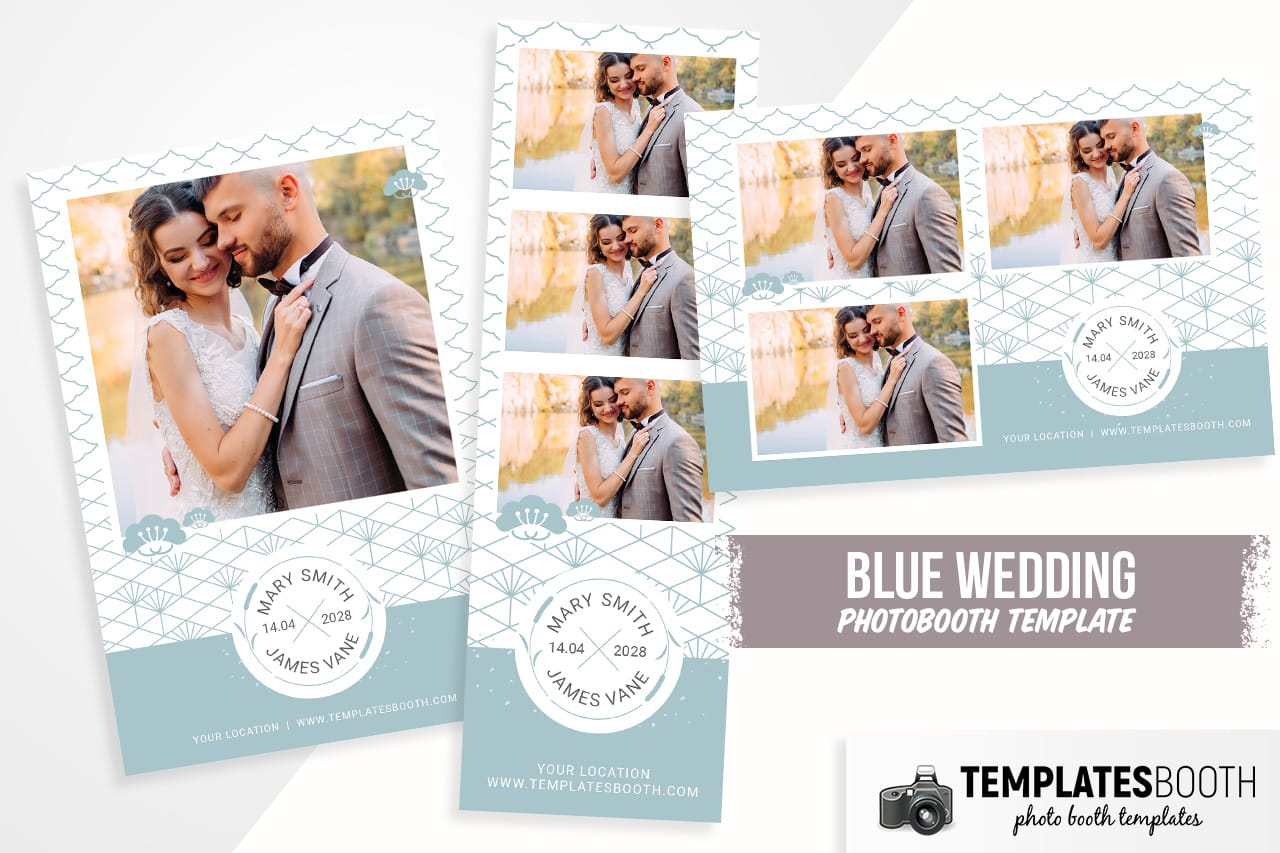 wedding photo booth templates for photoshop
