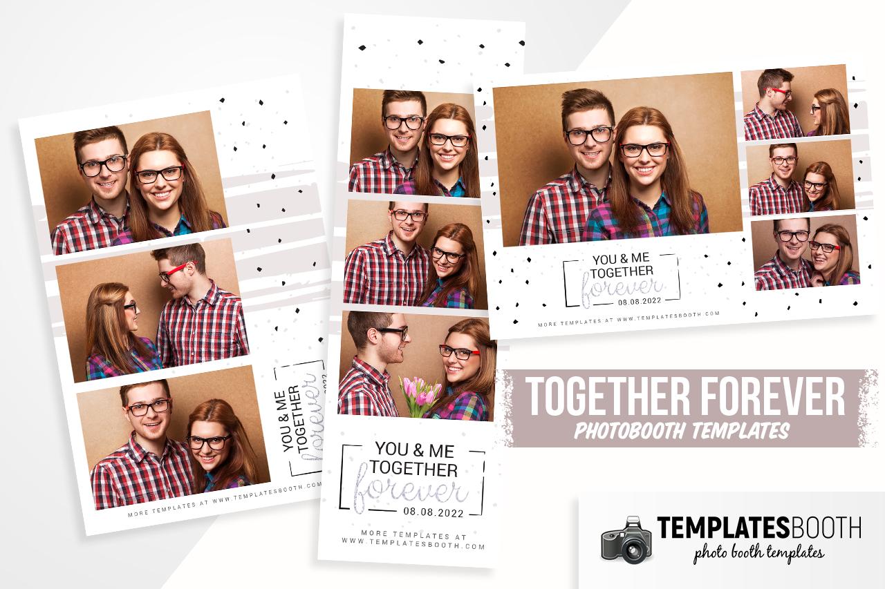 together forever photobooth designs