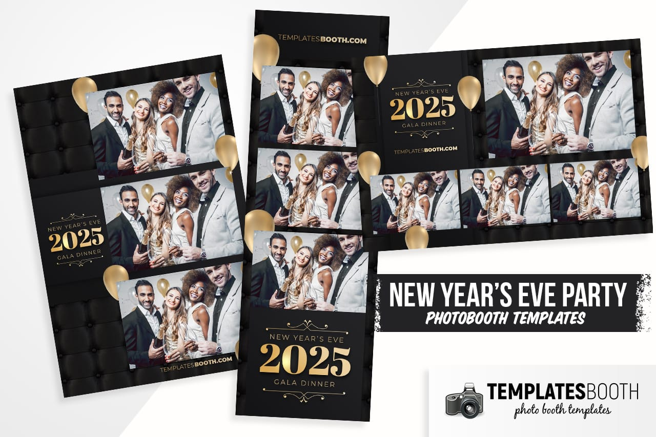 nye party photo booth designs
