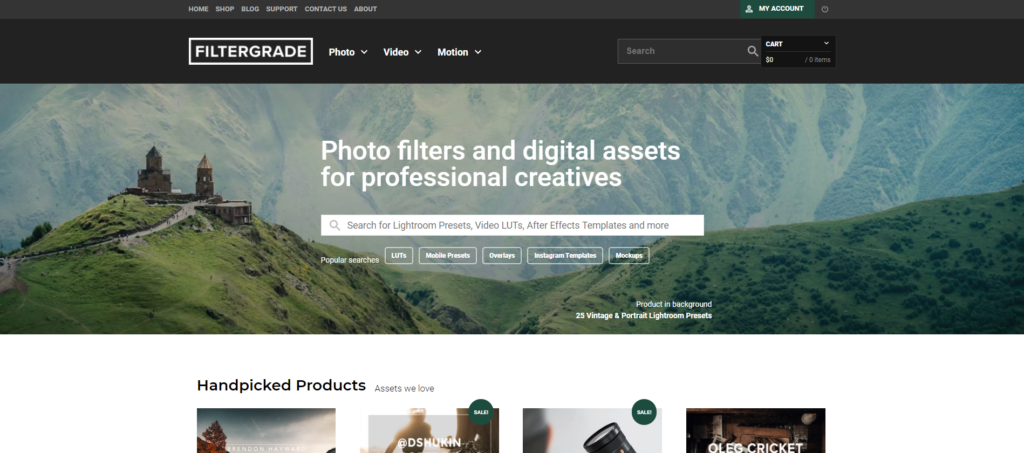 filtergrade blog page