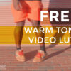 1 FREE Warm Tone Video LUTs - FilterGrade