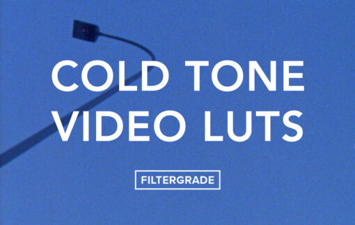 The Cold Tone Video LUTs Pack - FilterGrade