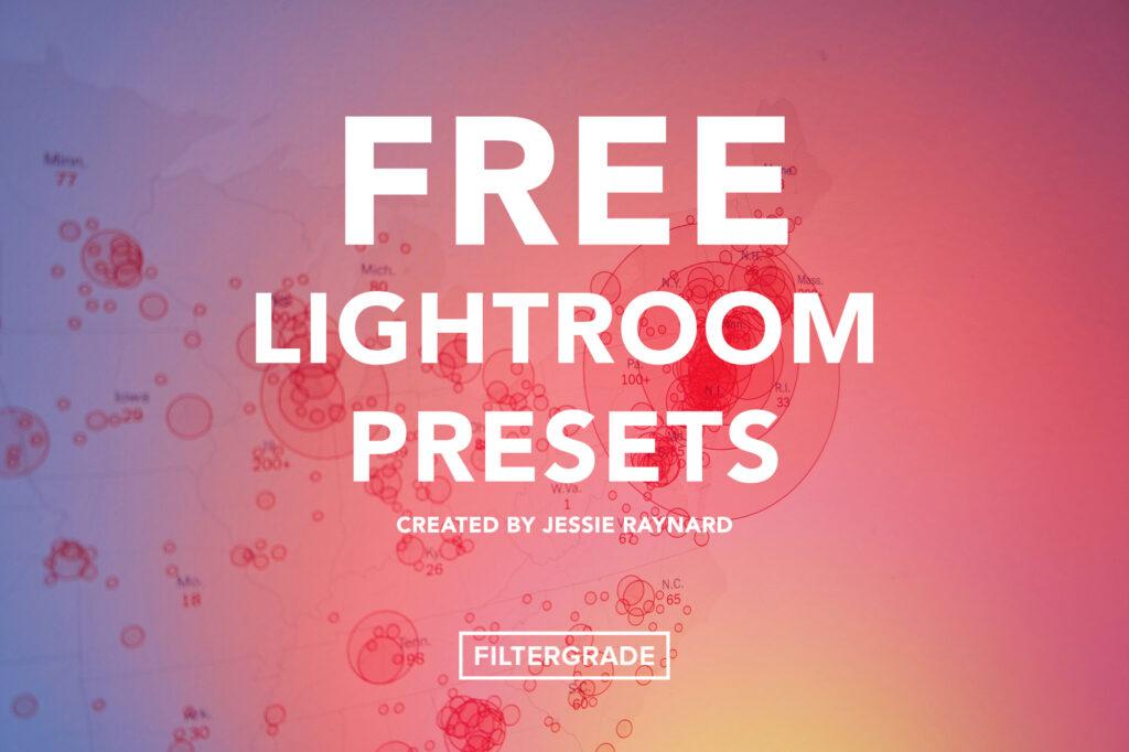 Free Corona Lightroom Presets - Jessie Raynard- Filtergrade