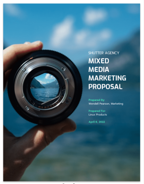 How to Write a Compelling Photography Proposal that Lands Clients