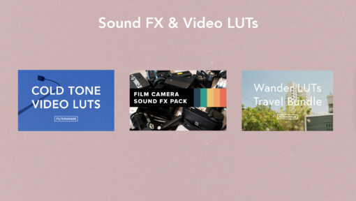 Sound FX and Video LUTs- The Analog Filmmakers Bundle - FilterGrade