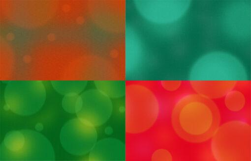 retro bubbles backgrounds examples