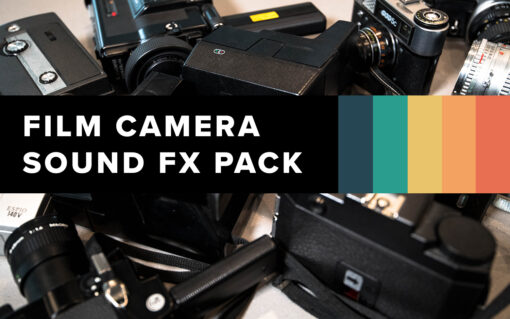 Cover - Film Camera Sound FX Pack - FilterGrade