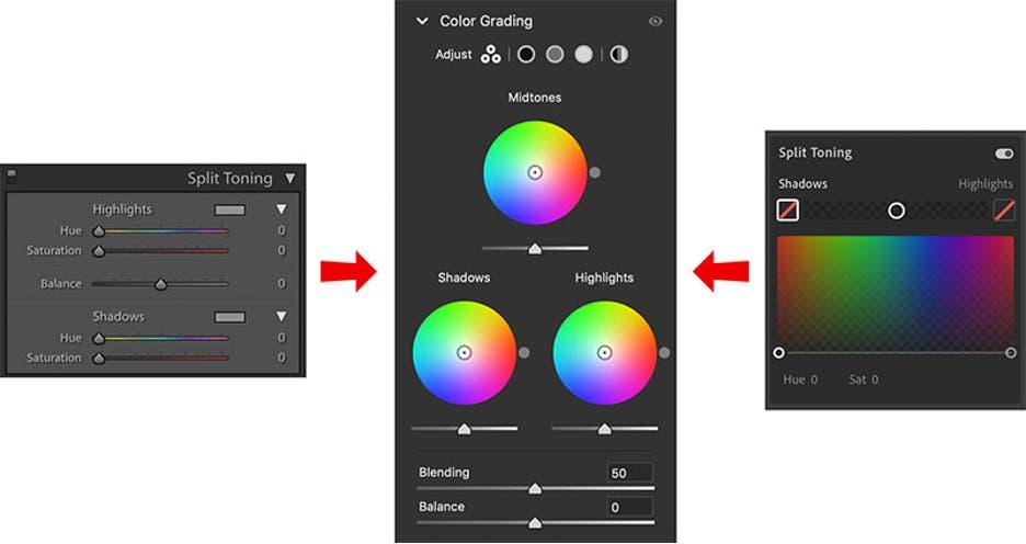 new color grading lightroom adobe update