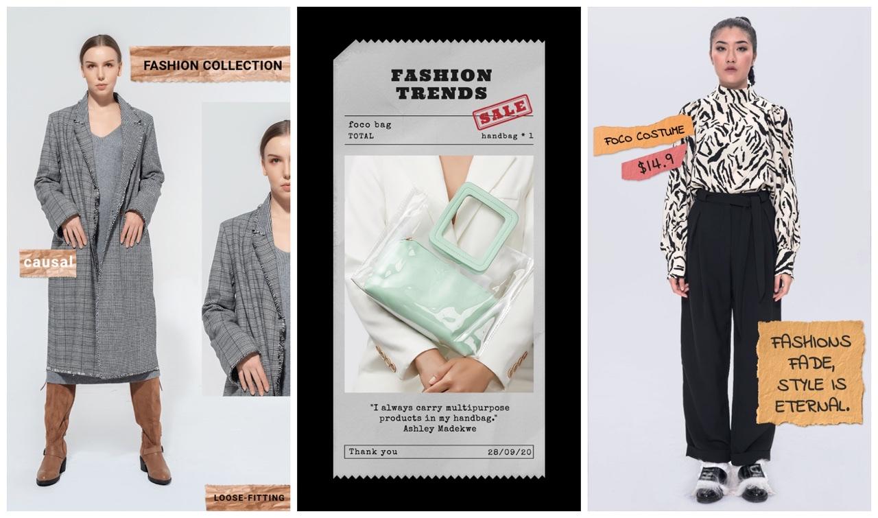 fashion instagram stories app
