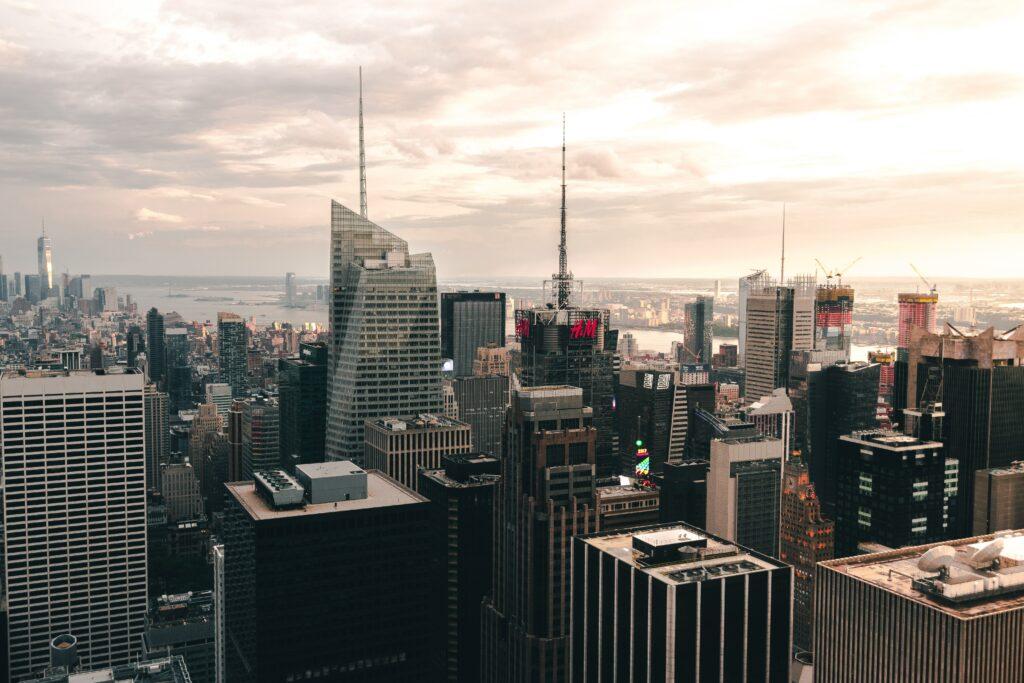 drone photography nostalgic new york