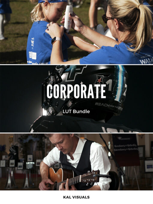 Kal Visuals Corporate LUTS Pack - FilterGrade