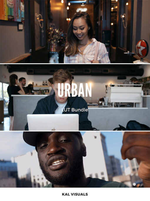 Kal Visuals Urban LUTs Bundle - FilterGrade