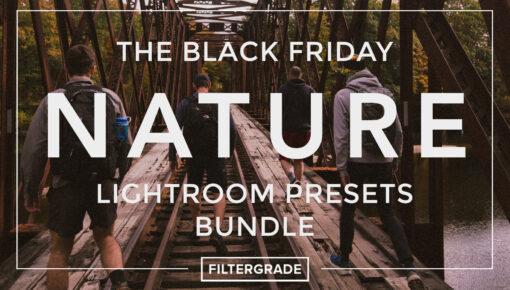 FilterGrade Black Friday Nature Lightroom Presets Bundle