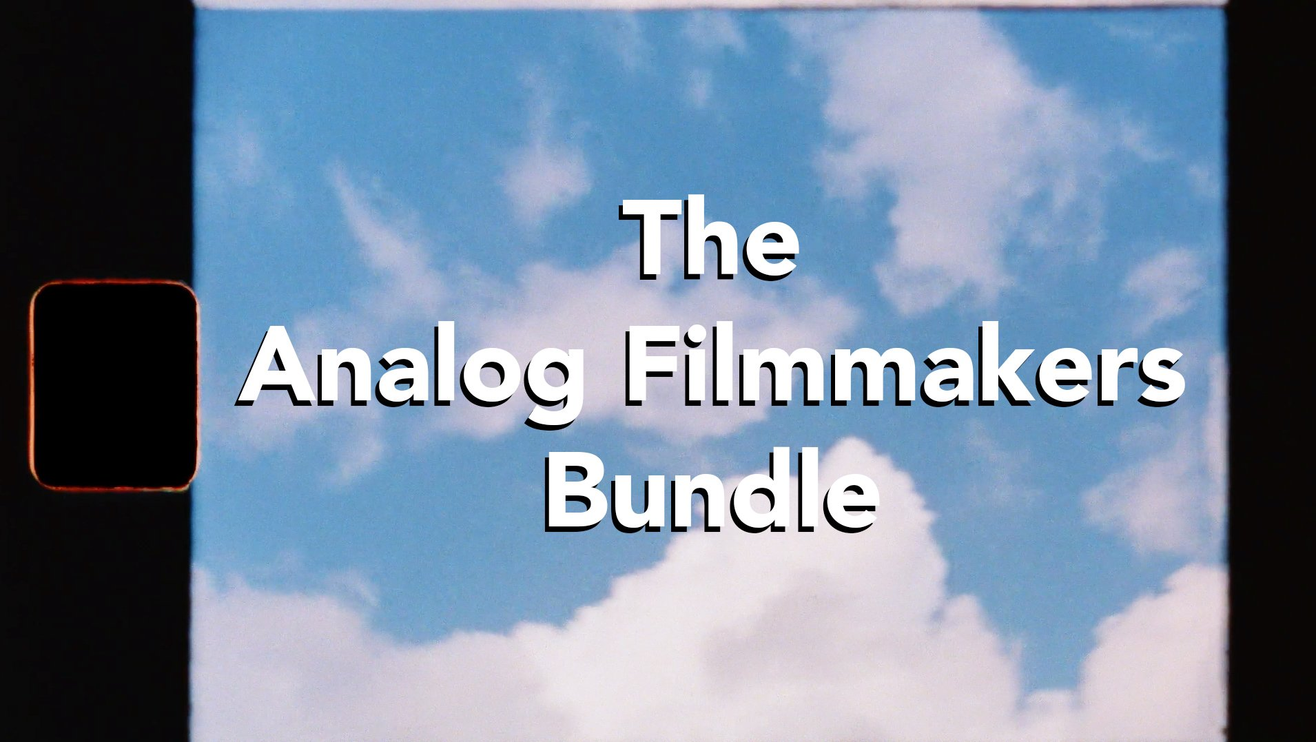 analog filmmakers video editing bundle