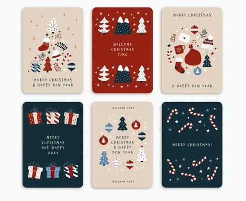 Free Holiday Card Templates Roundup Filtergrade