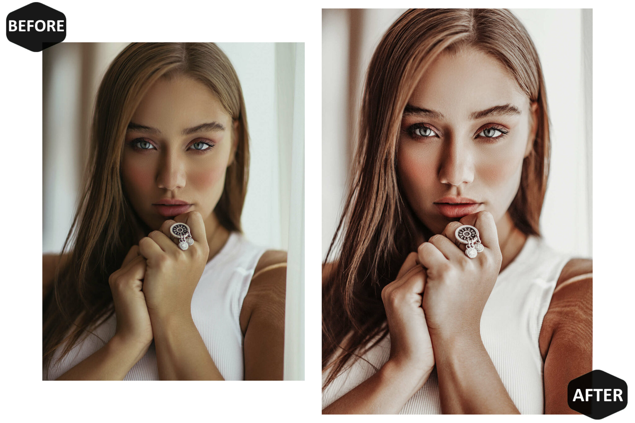 Nude Photoshop Actions and ACR Presets - 3Motional
