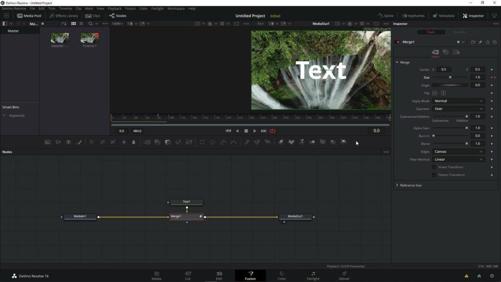 DaVinci Resolve Titles and Animation Basics