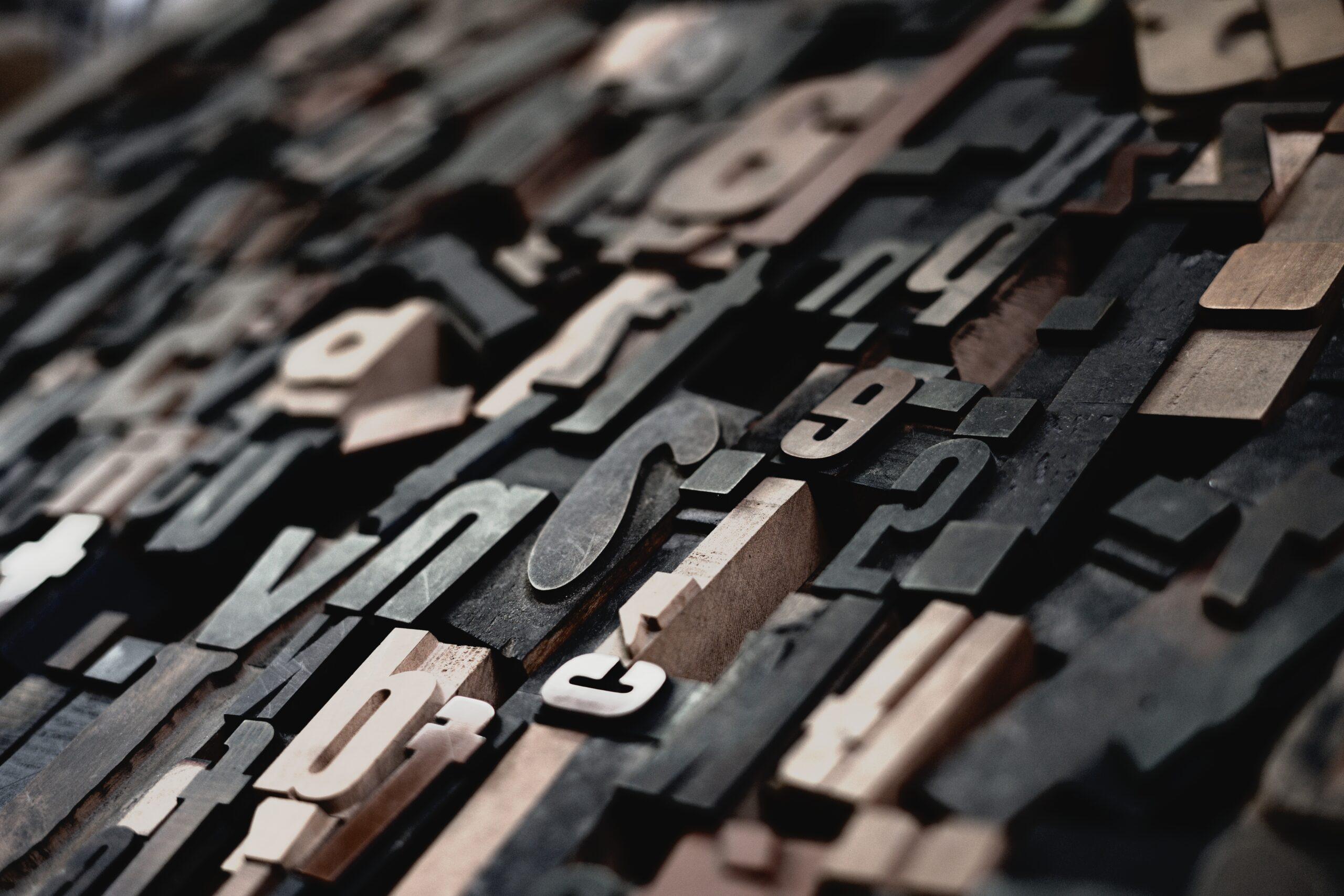typography type setting