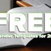 FREE Calendar Templates 2021 - FilterGrade