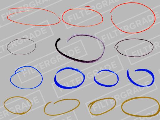 Marker Overlays Pack - Circles - FilterGrade