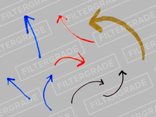 Marker Overlays Pack - Arrows - FilterGrade