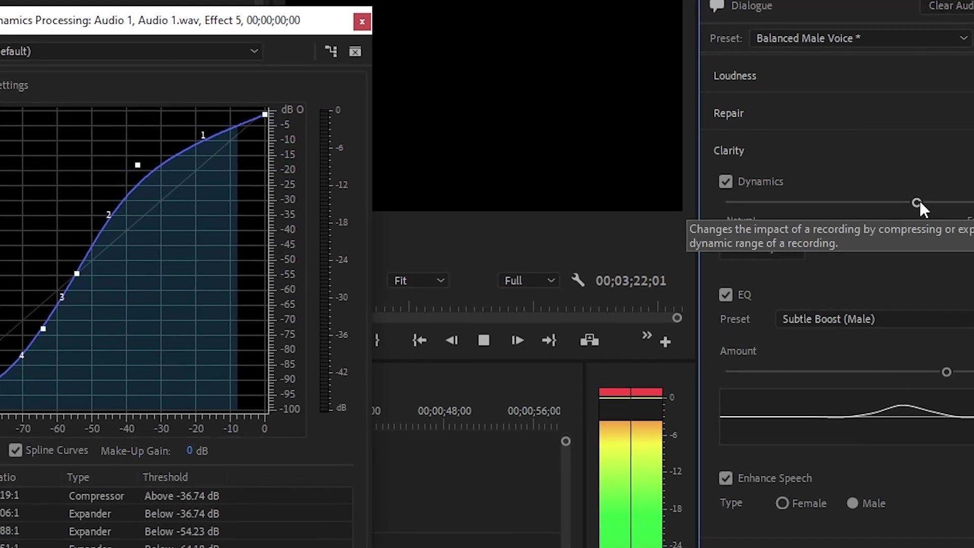 essential sound panel adjustments premiere pro