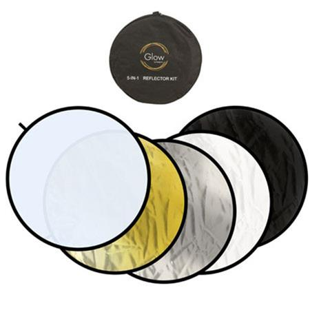 """Glow Portable 5 in 1 42"""" Reflector Kit"""
