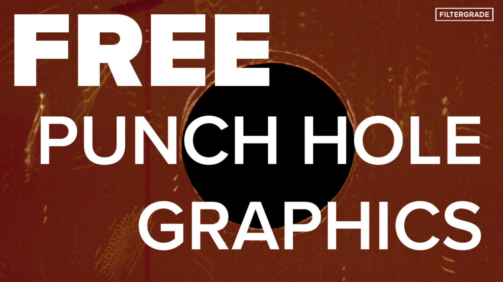 FREE Punch hole graphics - filtergrade