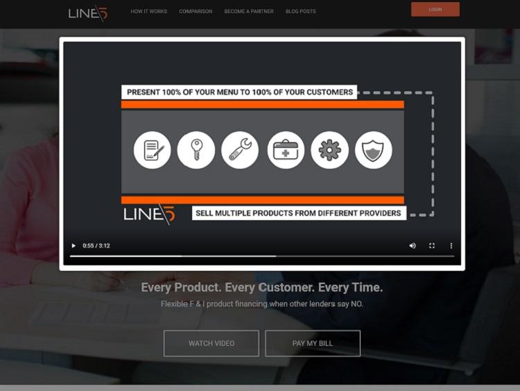 hero header example website
