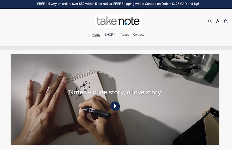 take note website