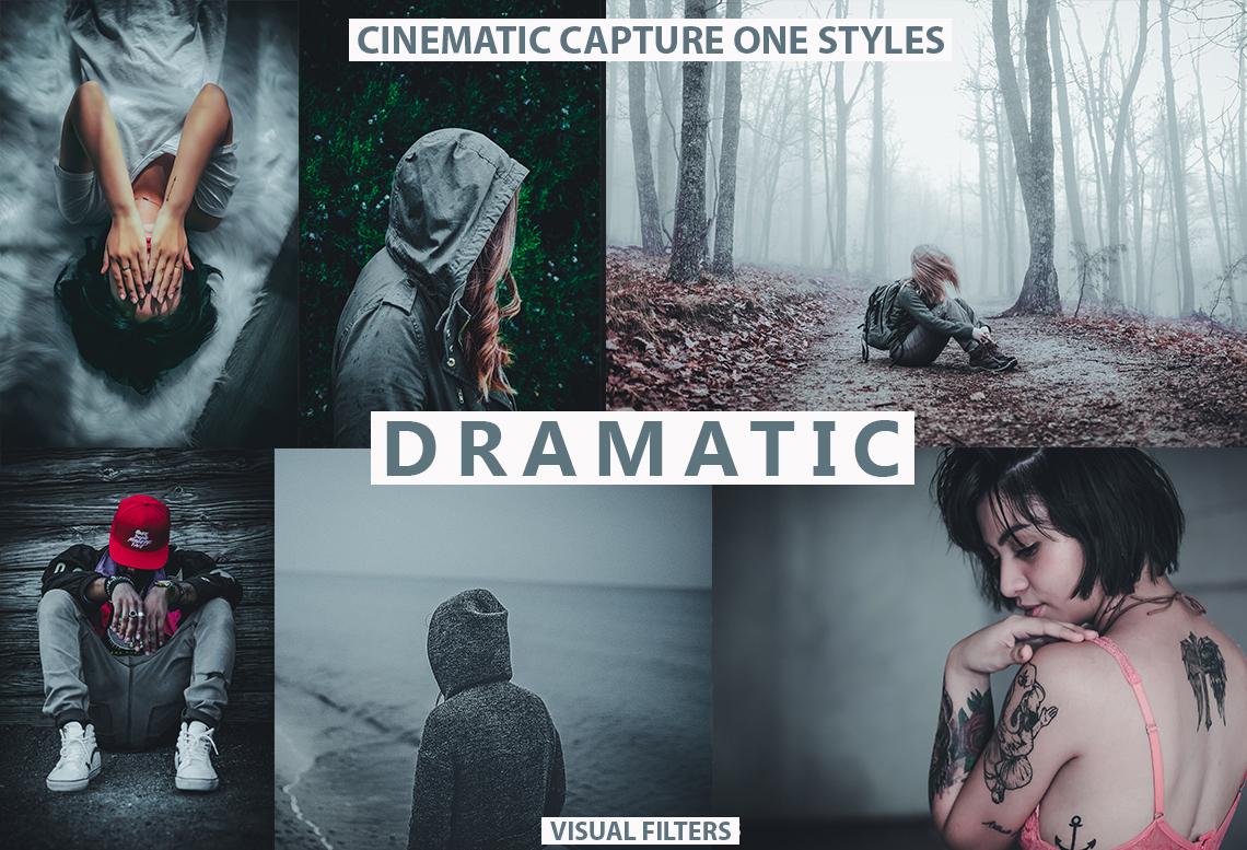 dramatic dark capture one styles